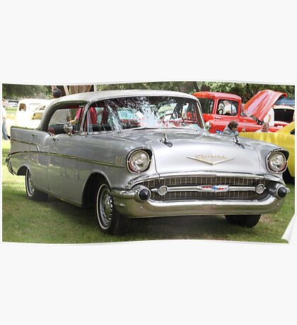 1957 Chevrolet Bel Air 4 door........ Poster