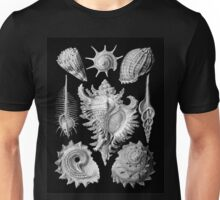 Prosobranchia, vintage sea life mollusca and gastropods illustration Unisex T-Shirt