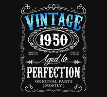 Vintage 1950 aged to perfection 66th birthday gift for men 1950 birthday Unisex T-Shirt