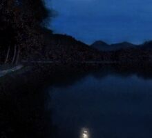 Moonlight On Lake Wolfgang by Menega  Sabidussi