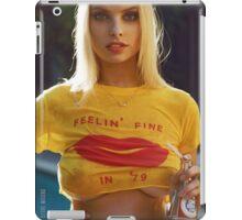 FEELIN FINE -WET HOT SUMMER iPad Case/Skin