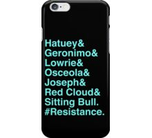 Resistance iPhone Case/Skin