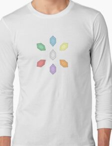 Rainbow Rupees Long Sleeve T-Shirt