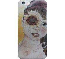Sunflower eyed iPhone Case/Skin