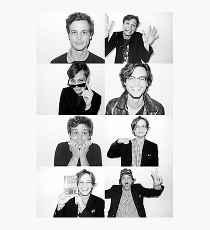 matthew gray gubler Photographic Print