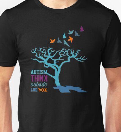 Autism Awareness Ribbon Unisex T-Shirt