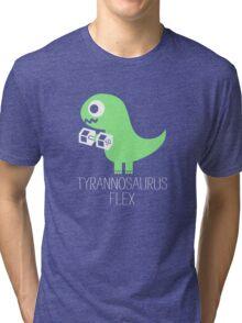 Tyrannosaurus Flex Tri-blend T-Shirt
