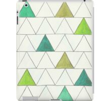 Watercolor Triangles iPad Case/Skin