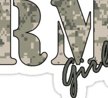 Army Girlfriend Sticker