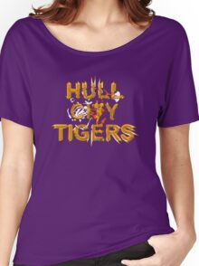 hull city 2016 Tiger vector Women's Relaxed Fit T-Shirt