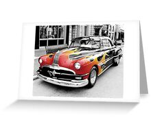 American Car Greeting Card