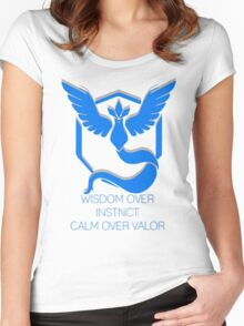 Team Mystic - Wisdom Women's Fitted Scoop T-Shirt