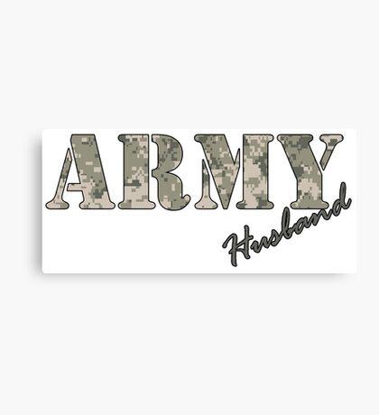 Army Husband Canvas Print
