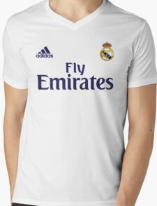 real madrid fc Mens V-Neck T-Shirt