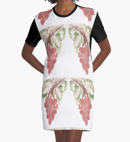 Great Grapes Graphic T-Shirt Dress