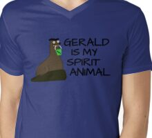 Gerald is my Spirit Animal Mens V-Neck T-Shirt