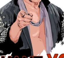 Chris Jericho I want you! Sticker