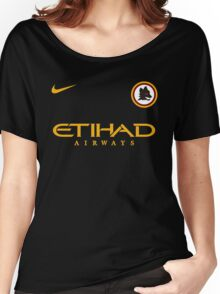 AS Roma Women's Relaxed Fit T-Shirt