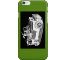 Black And White Willys World War Two Army Jeep iPhone Case/Skin