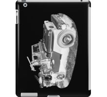 Black And White Willys World War Two Army Jeep iPad Case/Skin