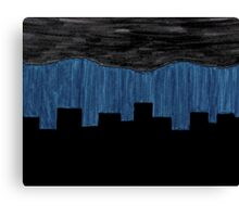 Under the Gloom Canvas Print