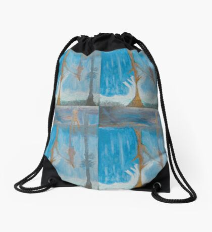 w-h-m-e Drawstring Bag