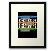p51 - Kandy Coloured Streamline Baby Framed Print