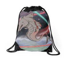 RoboShark Drawstring Bag