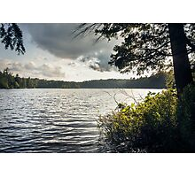 Northern lake landscape Photographic Print