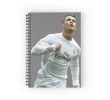 cristiano ronaldo goal Spiral Notebook