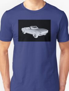 1967 Convertible Camaro Pop Art T-Shirt