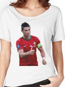 cristiano ronaldo  portugal Women's Relaxed Fit T-Shirt