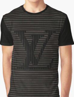 Louis Vuitton Black Line Graphic T-Shirt