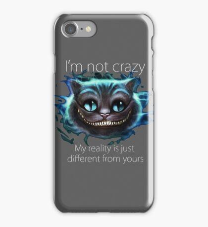 Cheshire Cat Quote iPhone Case/Skin