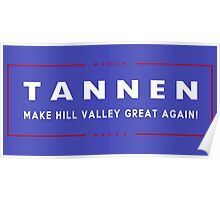 TANNEN: Make Hill Valley Great Again! Poster