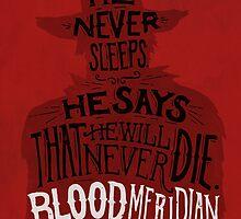Blood Meridian Art Print by geekdown