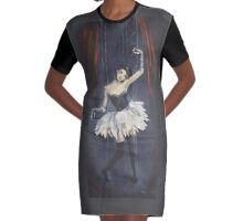 Advertise Advertise Advertise Graphic T-Shirt Dress