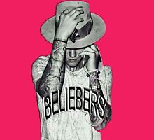 JUSTIN BIEBER Womens Fitted T-Shirt