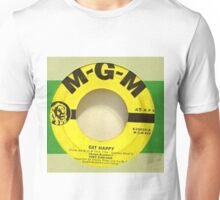 Judy Garland Get Happy Early 50's 45 label from Box Set  Unisex T-Shirt