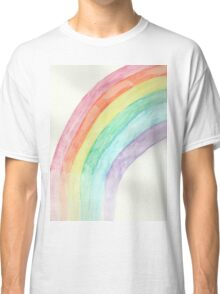Rainbow Watercolor Classic T-Shirt