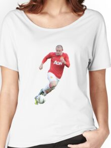 wayne rooney red devil Women's Relaxed Fit T-Shirt
