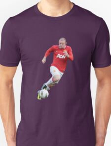 wayne rooney red devil Unisex T-Shirt