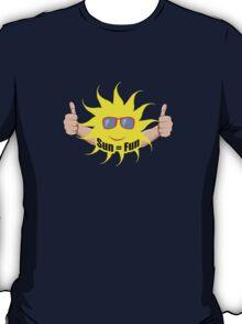 Sun Equals Fun T-Shirt