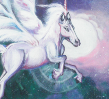 Unicorn and The Nebula  Sticker