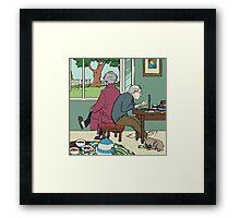 Retirement of Sherlock and John Framed Print
