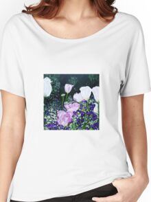 Tulips. Women's Relaxed Fit T-Shirt