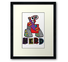 """Official """"Nerd"""" Collection Framed Print"""