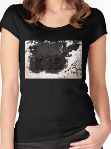 K-15 Metal Madness Women's Fitted Scoop T-Shirt