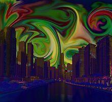 Cityscape  by Nandika-Dutt