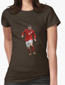 wayne rooney dreable Womens Fitted T-Shirt